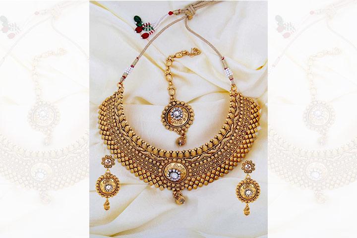 artificial bridal jewellery online 5