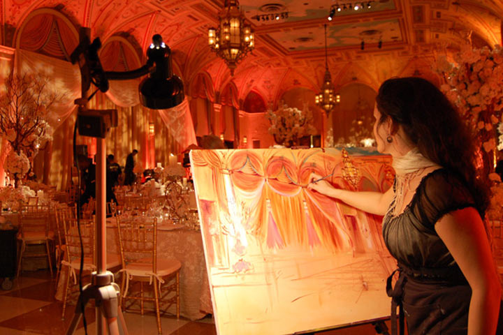 Wedding Gift Ideas - Commission a Live-Painting
