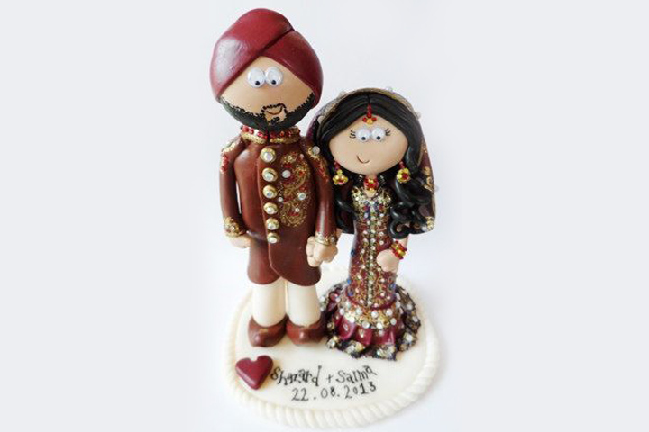 Wedding Gift Ideas - Custom Cake Toppers