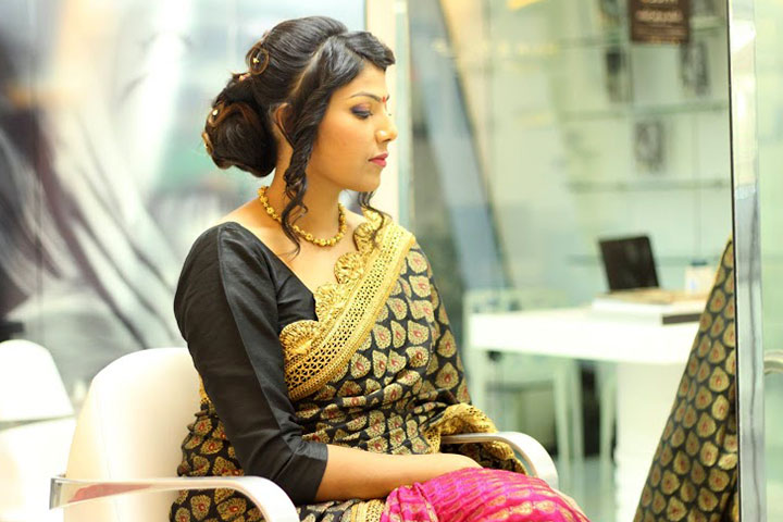 Remarkable Perfect South Indian Bridal Hairstyles For Receptions Short Hairstyles Gunalazisus