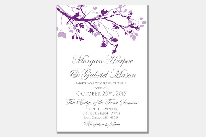 Floral-Christian-Wedding-Cards-for-a-Spring-Wedding