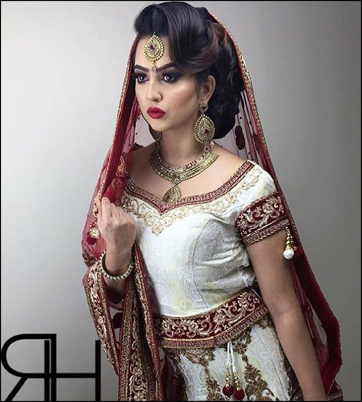 Surprising Indian Bridal Hairstyles The Perfect 16 Wedding Hairdo Pics Short Hairstyles For Black Women Fulllsitofus