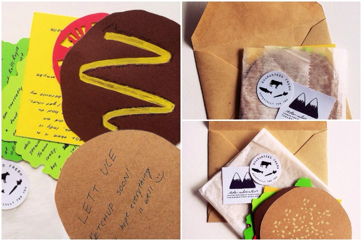 Wedding Invitation Cards - The Big Burger Invite