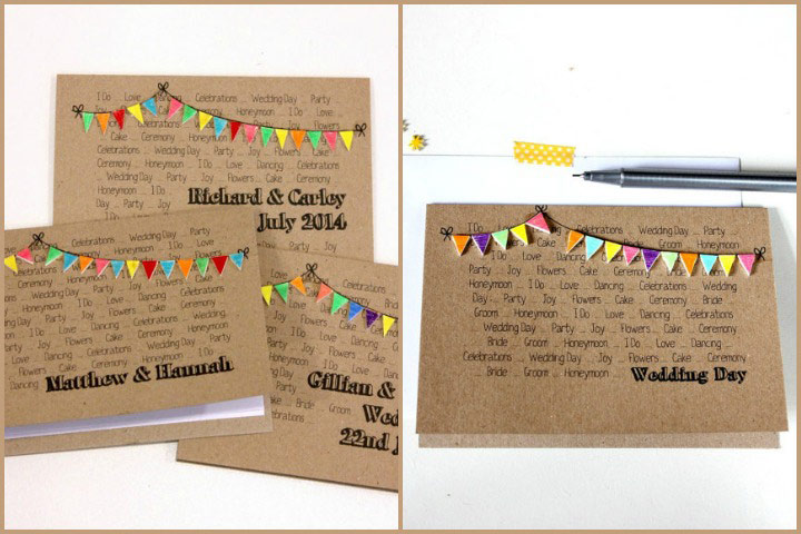 Wedding Invitation Cards - The Handmade & Eco-Friendly Wedding Invite