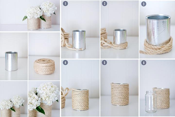 Wedding Gift Ideas - The Rope Vase