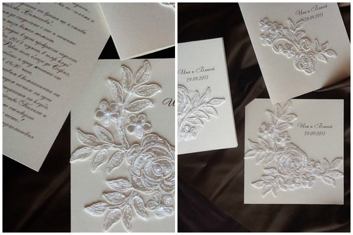 Wedding Invitation Cards - The Vintage Floral Invitation