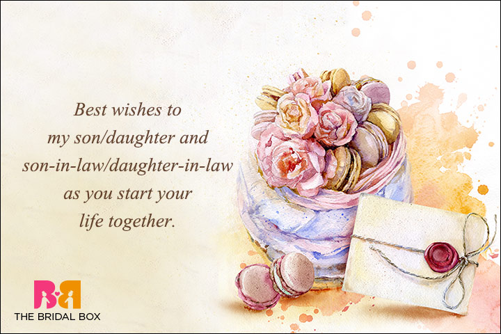 Best Wedding Wishes - From Parents To Their Children
