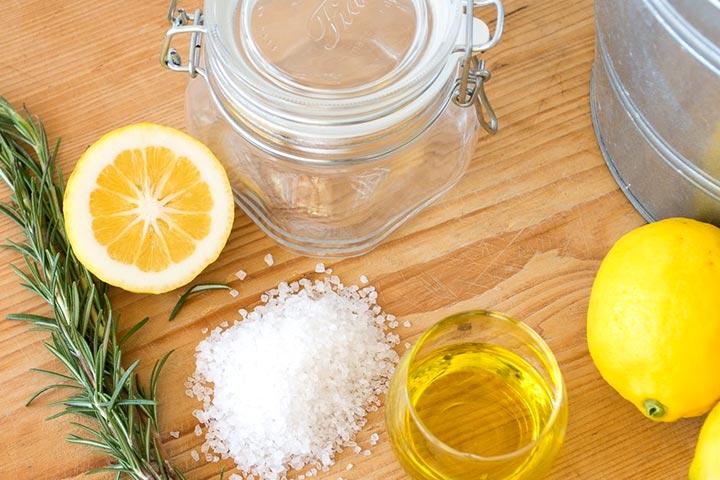 Salt, Lime, Baking Soda - How To Remove Mehndi