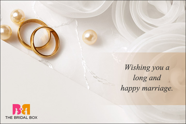 Casual Wedding Day Wishes - Sweet and simple