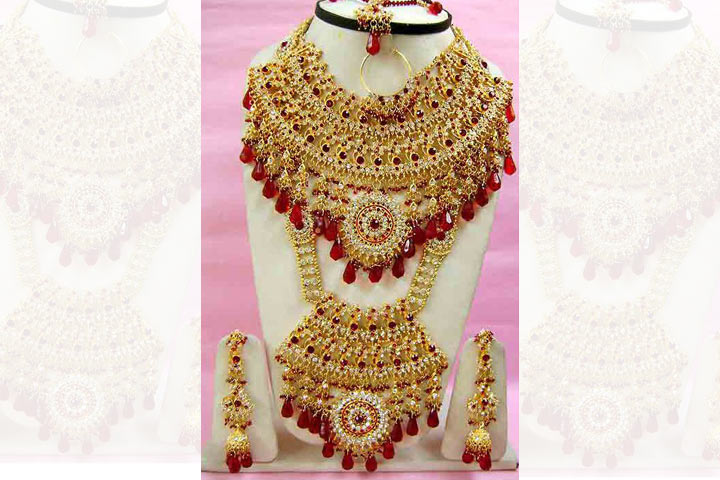 utsav fashon bridal artificial jewellery
