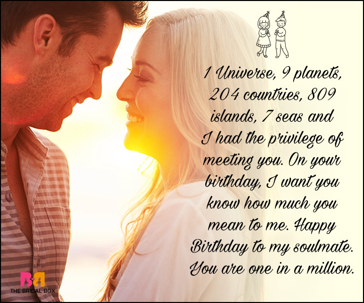 Birthday Love Quotes Best Birthday Love Quotes For Him The Special Man In Your Life