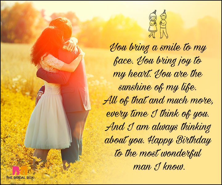 Love Quotes For Him On His Bday : Birthday Love Quotes For Him: The Special Man In Your Life!
