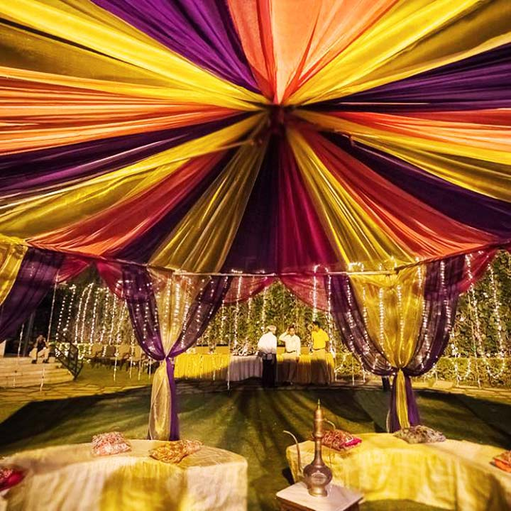 The most gorgeous wedding tent decoration ideas for Canape decoration