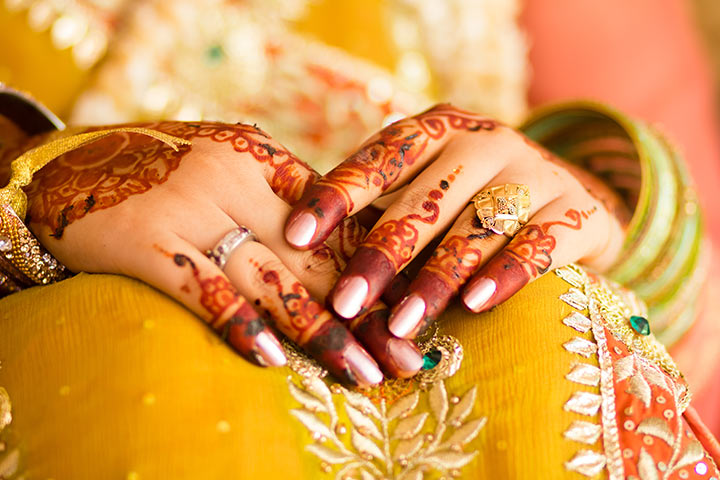 Bridal Mehndi Designs - Finger Detailing