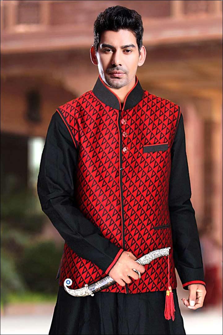 Sherwani For Groom - Jacket Style
