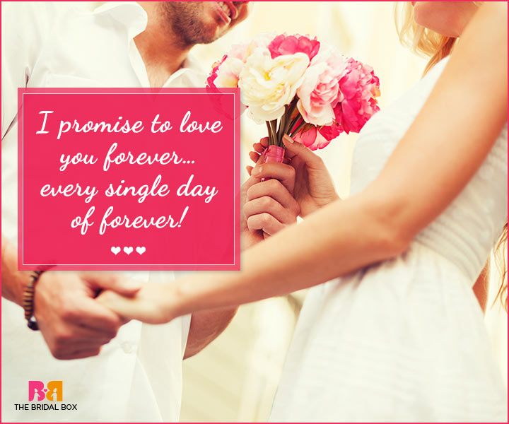 Marriage Proposal Quotes - I Promise