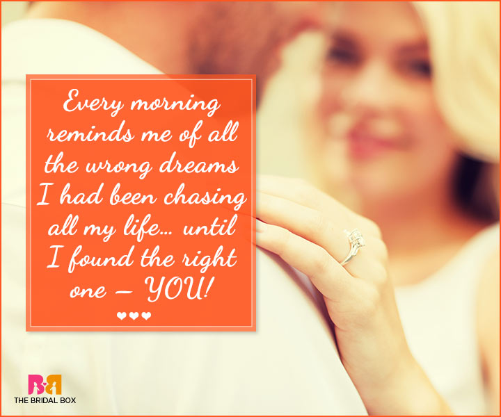 Marriage Proposal Quotes - Every Morning