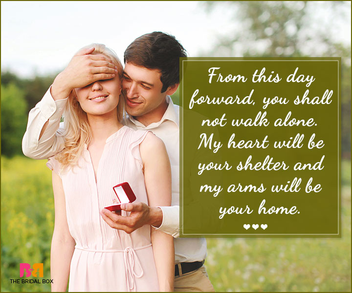 Marriage Proposal Quotes - From This Day Forward