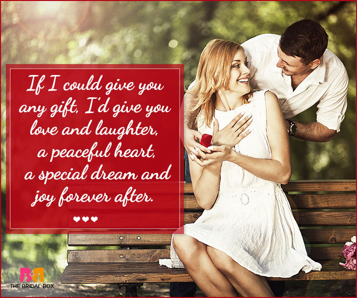 Marriage Proposal Quotes - Love And Laughter