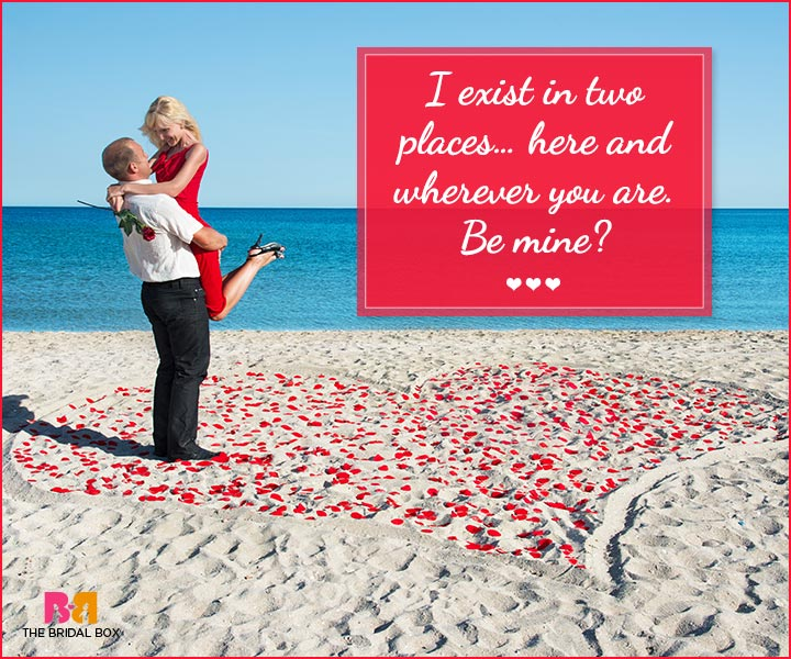 Marriage Proposal Quotes - I Exist