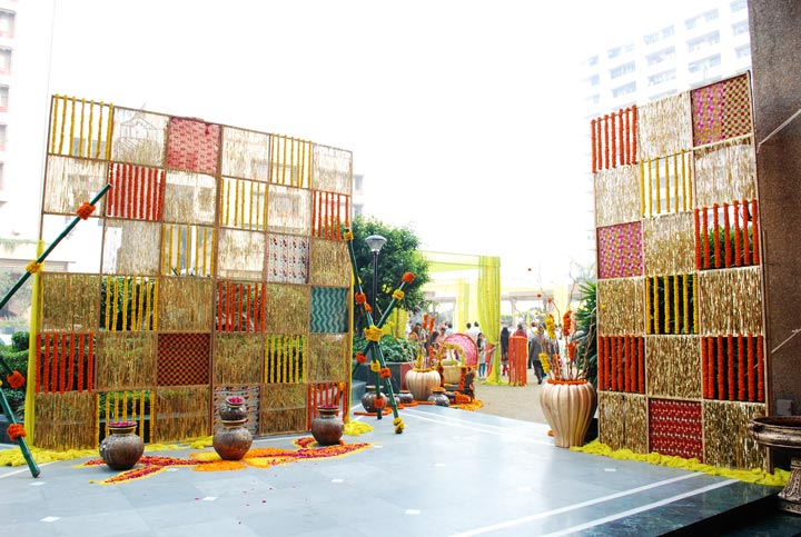 Wedding Venies In Bangalore-Outdoor decorations