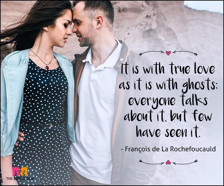 short love quotes for her - Francios de La Rochefoucauld