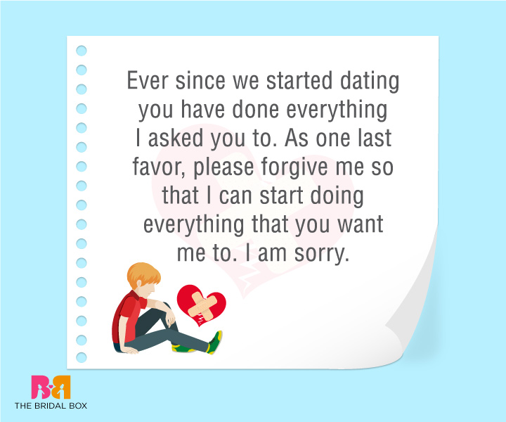 2 Sorry Love Quotes For Him