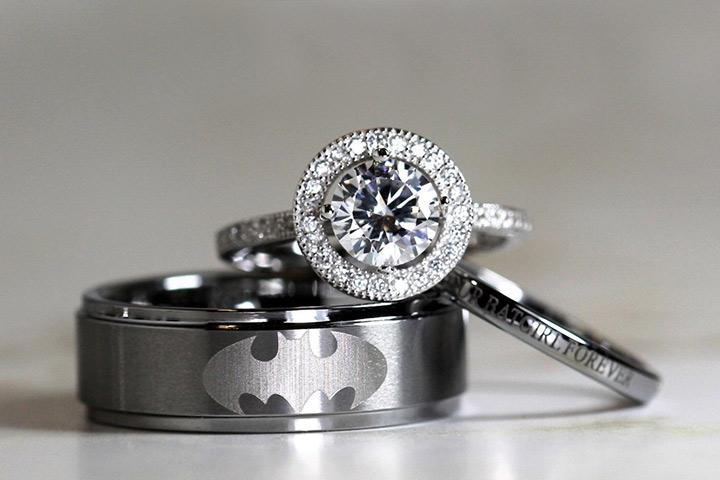 Engagement Rings For Men - The Batman Ring