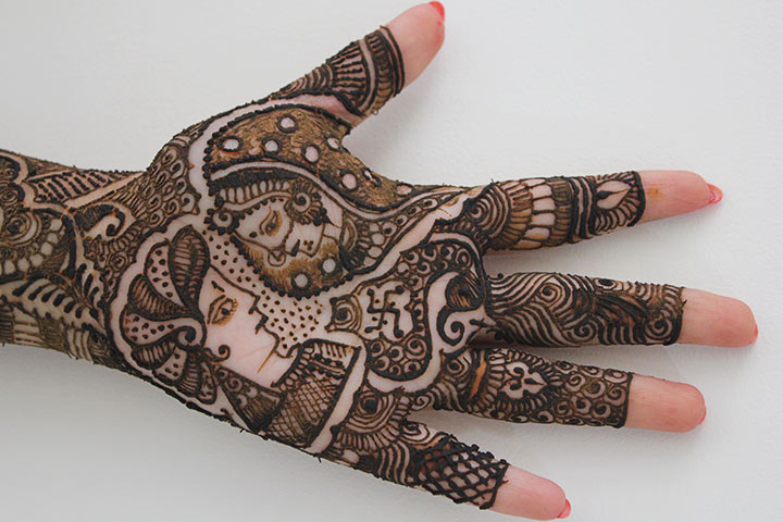 Bridal Mehndi Designs - The Bride And Groom