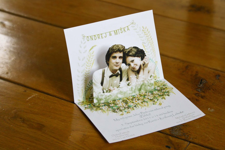 Wedding Card Matter In English - The Pop Up Invite