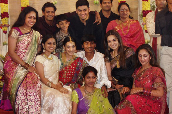 danush marriage with aishwarya-reception pictures
