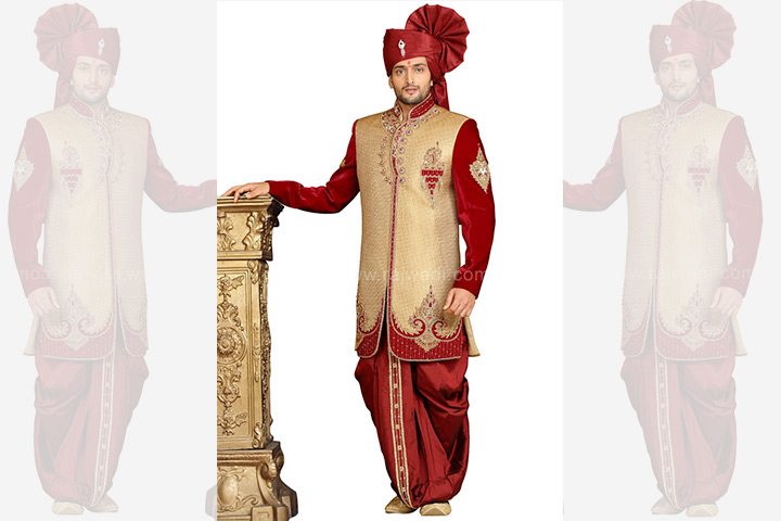 Engagement Dress For Indian Groom - Rajwadi