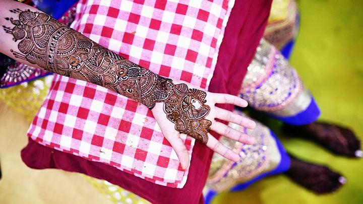 Rajasthani Mehndi Designs -full hand mehndi