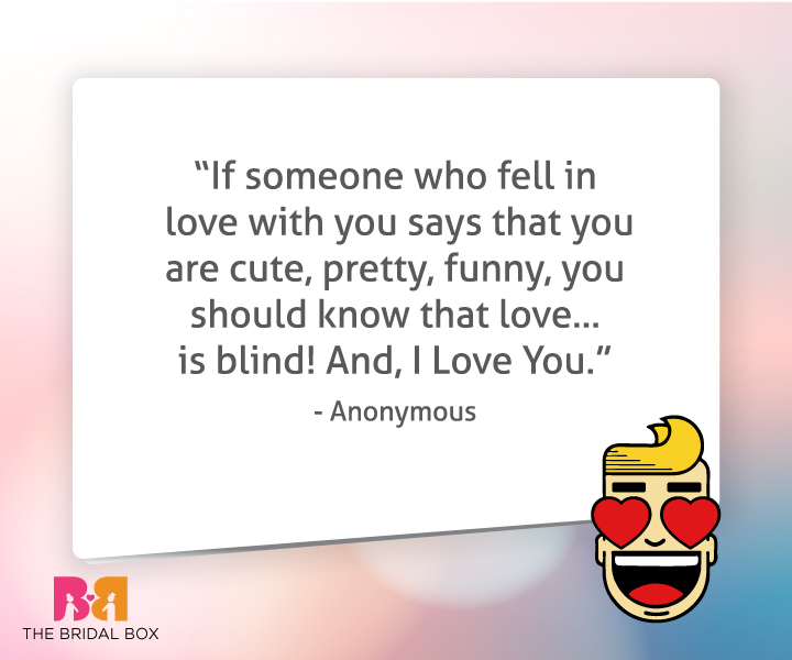 Funny Quotes About Love For Him: 25 Funny Love Quotes For Him To Smile, Kiss & Love