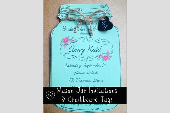 Bridal Shower-1 Invitation