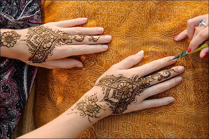 Mehndi Quotes For Wedding : Shilpa utkarsh indian wedding venue hindu ceremony lehenga