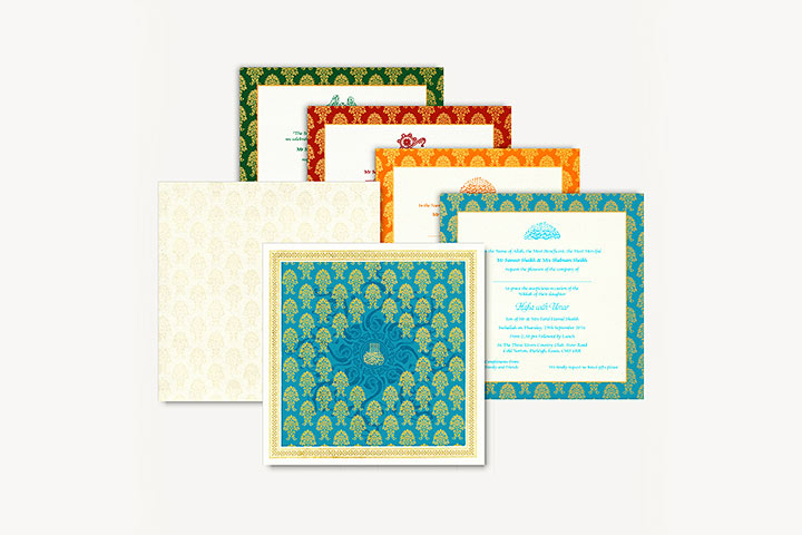 Muslim Wedding Cards - 10