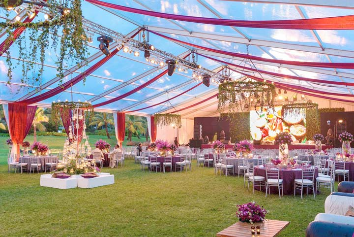 Wedding Venies In Bangalore-outdoor decoration