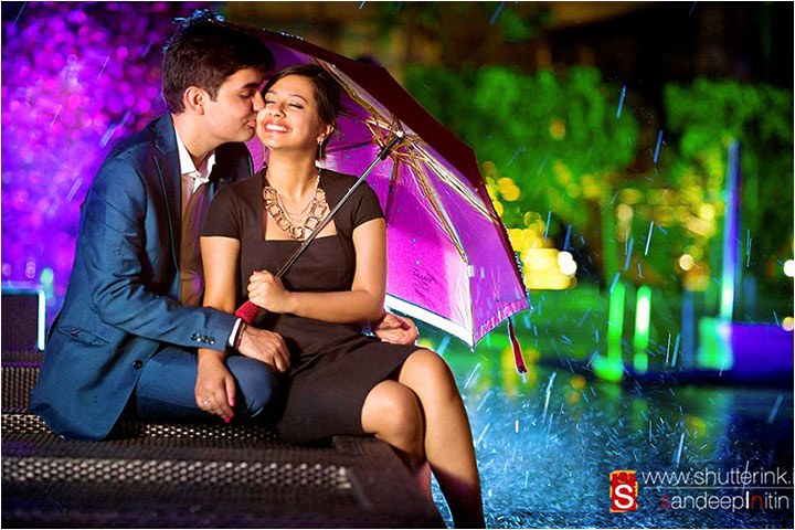 Pre-Wedding Photography - Umbrella Love