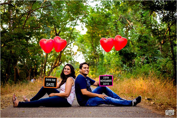 Pre-Wedding Photography - Save The Date