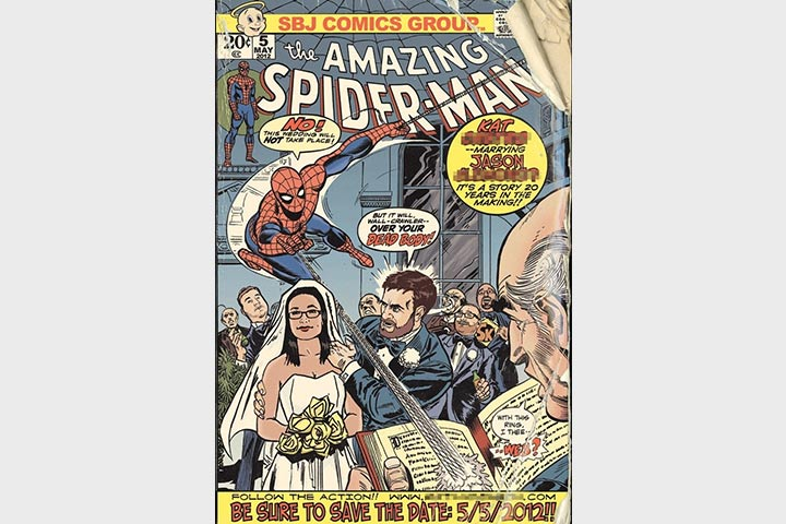 Wedding Card Matter In English - The Flyaway Spidey