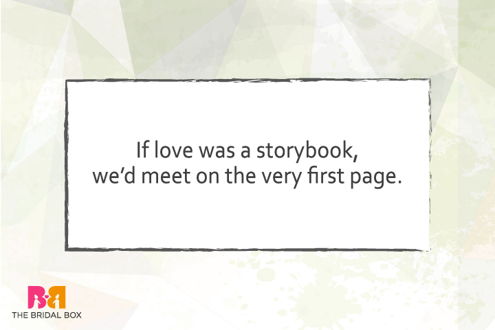 True Love Quotes For Him - Love Is A Story Book