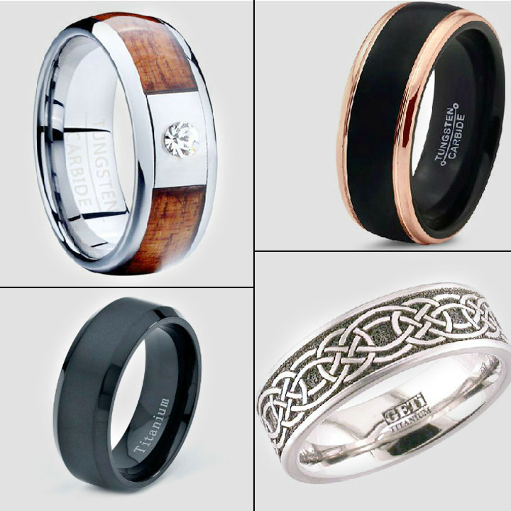 20 Refreshingly Unique Wedding Rings for Men