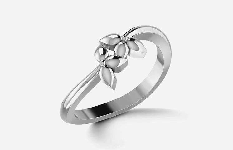 6 Agape Platinum Ring