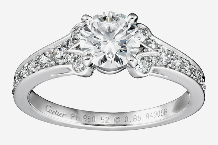 10 stunning cartier enement rings perfect for you - Cartier Wedding Rings