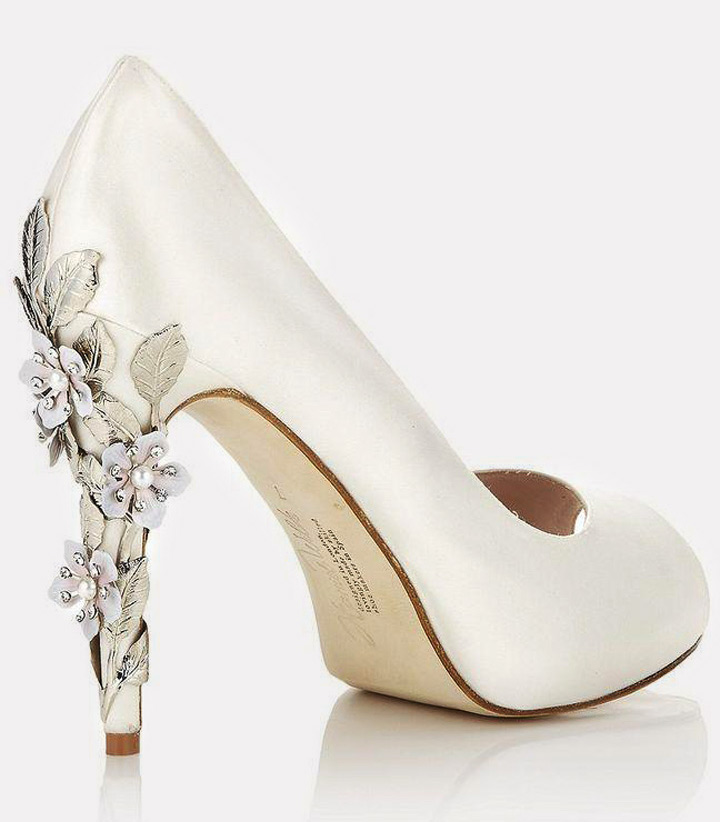 2 Bridal Ivory shoes