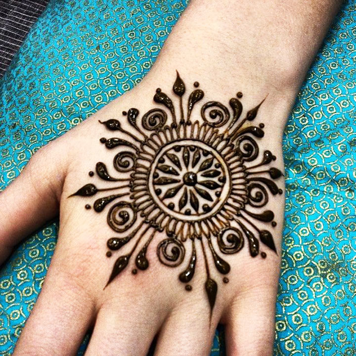 Mehndi Designs Circular : Engagement mehndi designs new to blow your mind