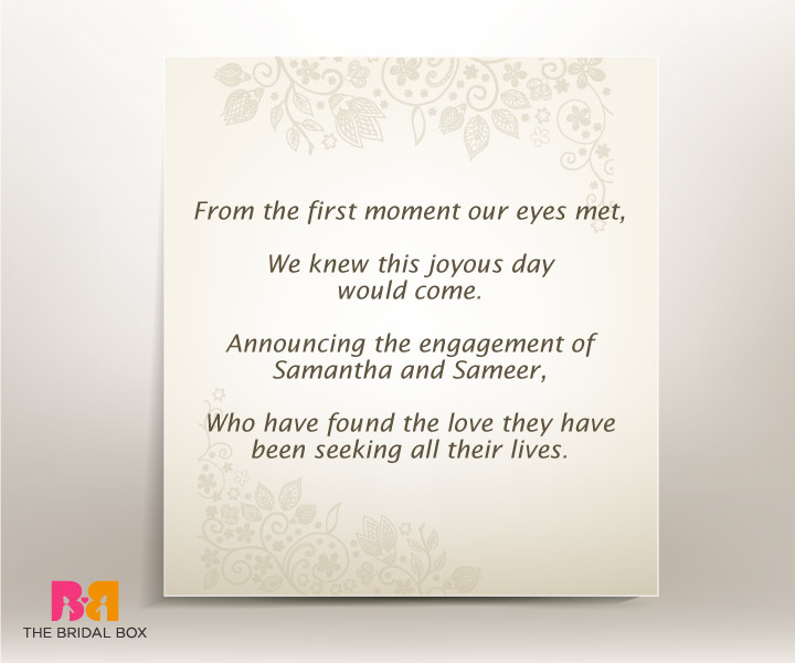 7 Well-Put Engagement Invitation Quotes