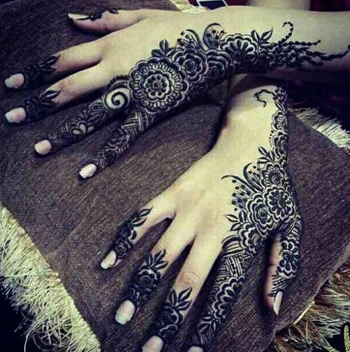 Mehndi Tattoo Designs For Back : Mehndi designs for back hands arabic the top picks