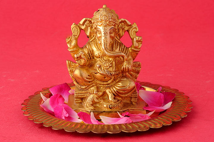 Wedding Gift Ideas For India - Metal Art Ganapati Sculpture